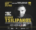George Tsilipakos at Just in Time Club (Thasos)