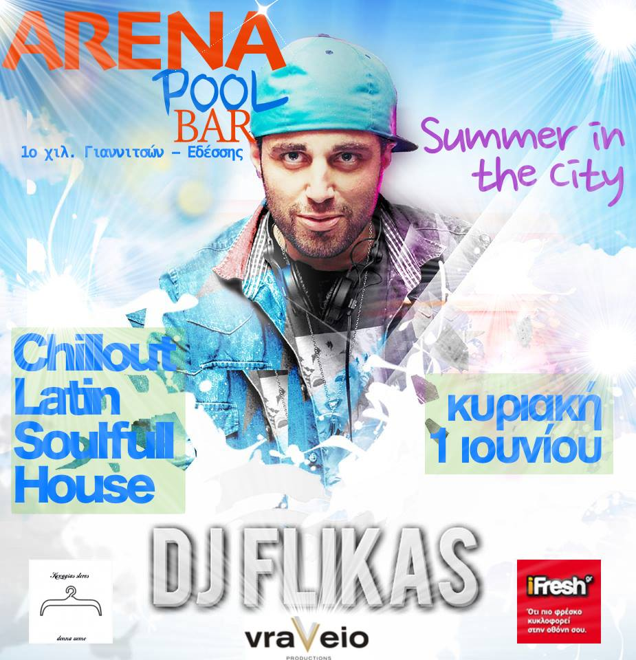 dj flikas pool party